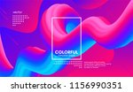 abstract 3d gradient background ... | Shutterstock .eps vector #1156990351