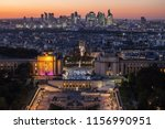 paris  france   october 6  ... | Shutterstock . vector #1156990951
