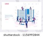 concept copywriting  blogging ... | Shutterstock .eps vector #1156992844