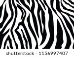 zebra stripes pattern. zebra... | Shutterstock .eps vector #1156997407
