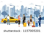 vector illustration of people... | Shutterstock .eps vector #1157005201