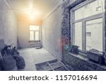 interior of small room with... | Shutterstock . vector #1157016694