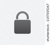 lock icon. on grid background