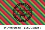 physician christmas colors... | Shutterstock .eps vector #1157038057