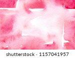 watercolor pink tactile... | Shutterstock . vector #1157041957