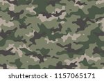 camouflage seamless pattern.... | Shutterstock .eps vector #1157065171