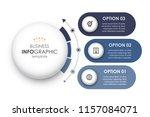 circular infographic design... | Shutterstock .eps vector #1157084071
