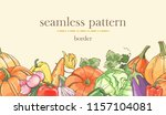 Seamless Border Pattern With...