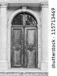 old door | Shutterstock . vector #115713469