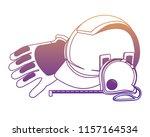 safety helmet icon | Shutterstock .eps vector #1157164534