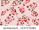 bright floral seamless pattern. ... | Shutterstock .eps vector #1157170384