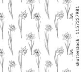 vector seamless pattern with... | Shutterstock .eps vector #1157227981