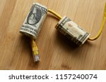 the cost of internet data plans ... | Shutterstock . vector #1157240074