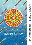 onam boat festival background.... | Shutterstock . vector #1157242204