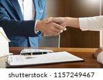 house developers agent or... | Shutterstock . vector #1157249467
