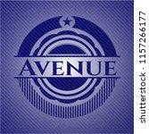 avenue denim background | Shutterstock .eps vector #1157266177