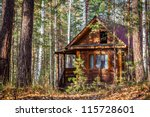 A Log Cabin In The Russian...