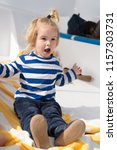 childhood concept. child play... | Shutterstock . vector #1157303731