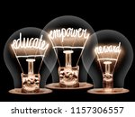photo of light bulbs with... | Shutterstock . vector #1157306557