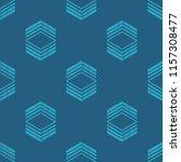 ethnic boho seamless pattern.... | Shutterstock .eps vector #1157308477