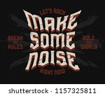 poster with gothic lettering... | Shutterstock .eps vector #1157325811