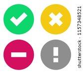 Vector Status Icon Set....