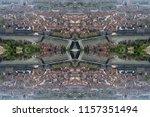 Optical Illusion Skyline City Grenoble - Fine Art prints