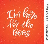 hand drawn lettering haloween...   Shutterstock .eps vector #1157351617