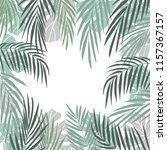 vector background  with  hand... | Shutterstock .eps vector #1157367157