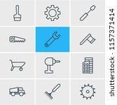 vector illustration of 12... | Shutterstock .eps vector #1157371414