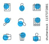 illustration of 9 tools icons... | Shutterstock . vector #1157372881