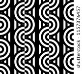 seamless pattern with circles... | Shutterstock .eps vector #1157376457