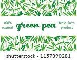 vector illustration of green... | Shutterstock .eps vector #1157390281