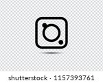 web camera icon on transparent... | Shutterstock .eps vector #1157393761