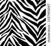 zebra stripes pattern. zebra... | Shutterstock .eps vector #1157403097