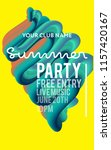 night party banner template for ... | Shutterstock .eps vector #1157420167