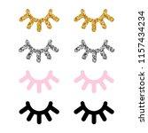 Set Of Cute Eyelashes For...
