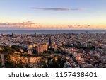 Barcelona   Spain  Panoramic...