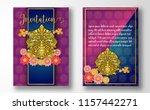 invitation card.thailand...   Shutterstock .eps vector #1157442271