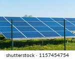 photovoltaic or solar panel for ... | Shutterstock . vector #1157454754