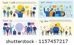 vector concept illustration... | Shutterstock .eps vector #1157457217