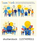 vector concept illustration... | Shutterstock .eps vector #1157459011