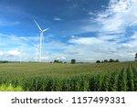 wind farm in thailand | Shutterstock . vector #1157499331