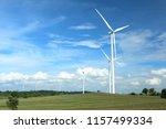 wind farm in thailand | Shutterstock . vector #1157499334