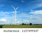 wind farm in thailand | Shutterstock . vector #1157499337