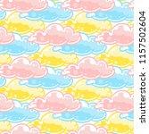 abstract vector seamless... | Shutterstock .eps vector #1157502604