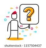 vector business illustration of ... | Shutterstock .eps vector #1157504437