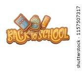 back to school vector...   Shutterstock .eps vector #1157507317