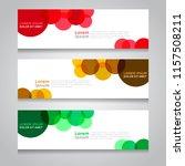 vector abstract design banner... | Shutterstock .eps vector #1157508211