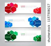 vector abstract design banner... | Shutterstock .eps vector #1157508217